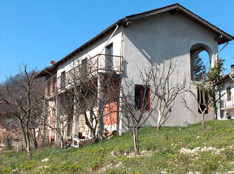 casa a cerrina monferrato panoramica