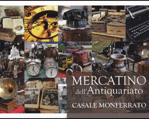 il mercatino antiquariato di casale monferrato