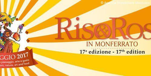 quarto weekend di riso e rose in monferrato