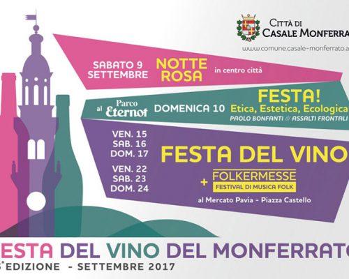 secondo weekend della festa del vino e del monferrato