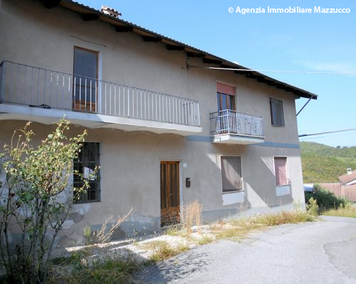 Casa in borgata a Odalengo Grande